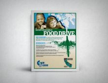 Food Bank Flyer – Cost-U-Less Insurance
