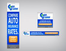 Banner Ad – Cost-U-Less Insurance