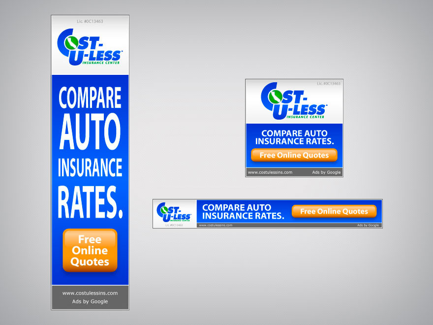 Cost U Less >> Banner Ad Cost U Less Insurance Nate Harvey